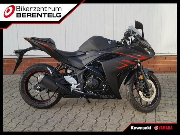 YAMAHA YZF-R 3 YZF-R3 2018 A2-Fähig - SSV - - Motorräder - Bild 1