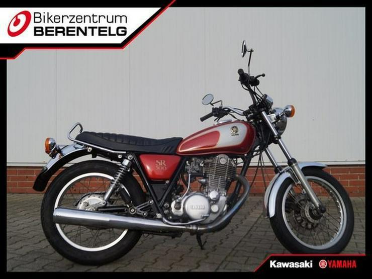 YAMAHA SR500 TOP ZUSTAND 48 T Original ( A2 ) - Motorräder - Bild 1