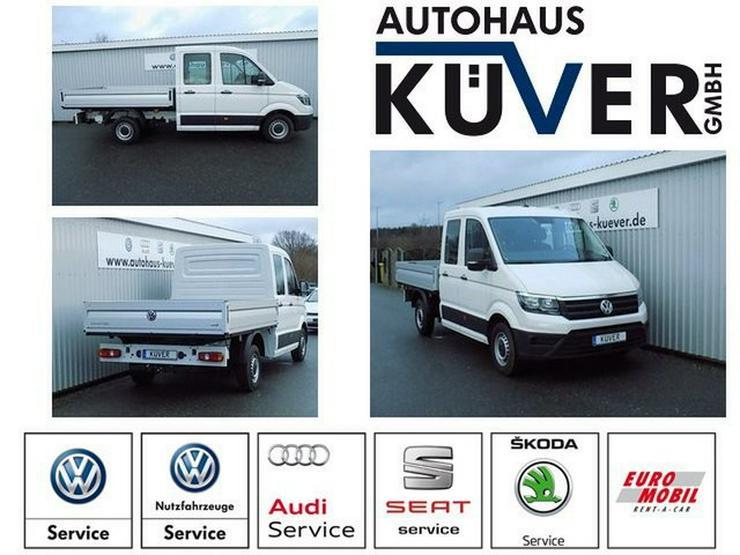 VW Crafter Doka Pritsche 35 2,0 TDI Klima AHK