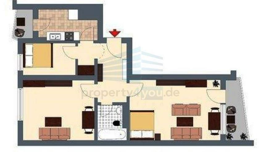 Bild 3: 3-Zimmer möblierte Wohnung mit Top-Ausstattung in München, Bogenhausen