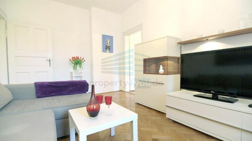 Sehr schöne möblierte 3.5-Zi Wohnung in Bestlage Lehel mit 2 Bädern, optional TG - Bild 1