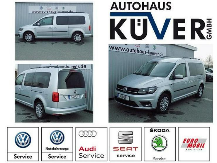 VW Caddy Maxi 2,0 TDI Navi Einparkhilfe 7-Sitze