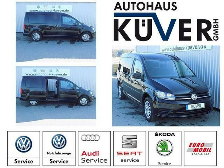 VW Caddy Maxi 2,0 TDI Klima Tempomat 7-Sitze
