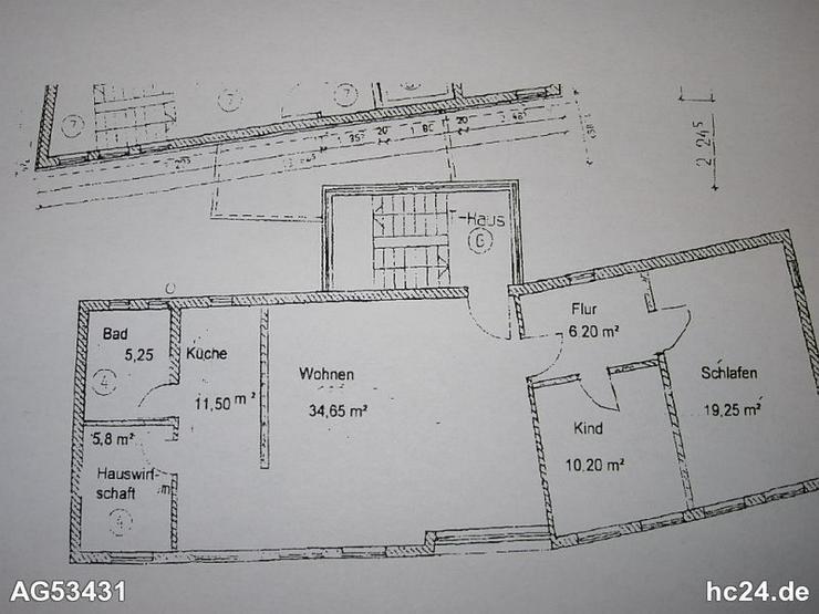 *** 3 Zimmerwohnung teilmöbliert Ulm-Lehr, auch geeignet als Studenten WG - Wohnen auf Zeit - Bild 1