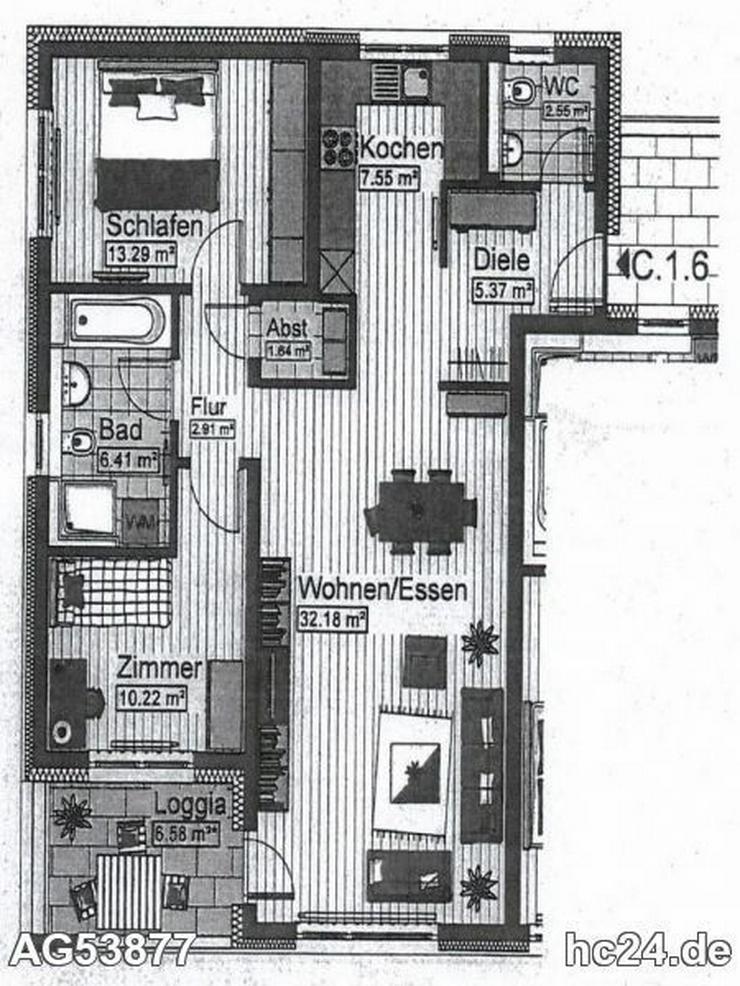 ***Moderne 3-Zimmer-Wohnung mit Blick ins Grüne