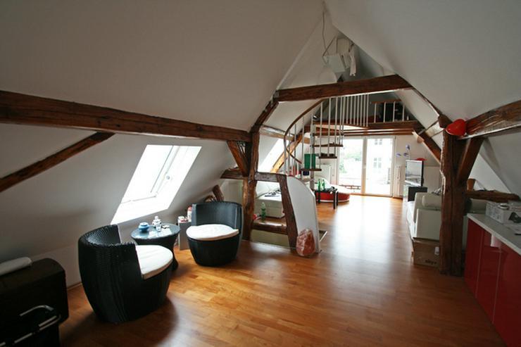 Bild 1: NEU - Traum für Individualisten: Außergewöhnliche Maisonette-Wohnung!
