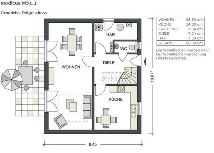 Bild 6: *** freistehendes Einfamilienhaus, passend für die ganze Familie *** tück