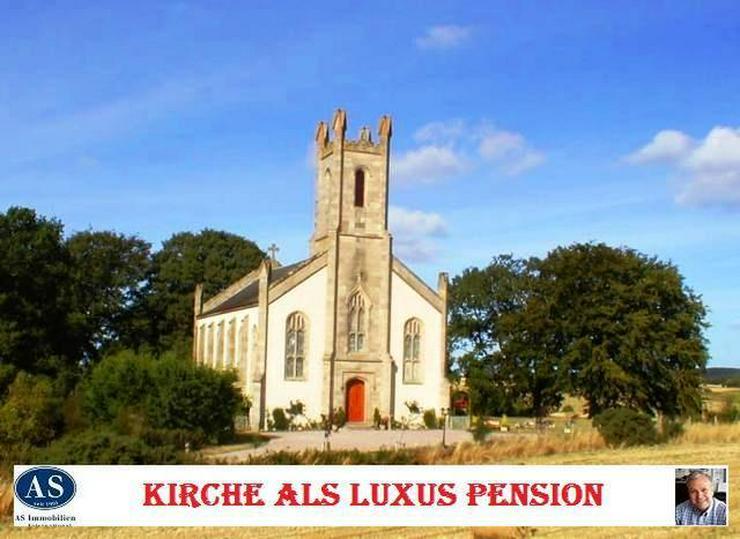 Sonderpreis, ca. 8000 qm Grundstück mit Baugenehmigung und Kirche als Pension zu verkaufe...