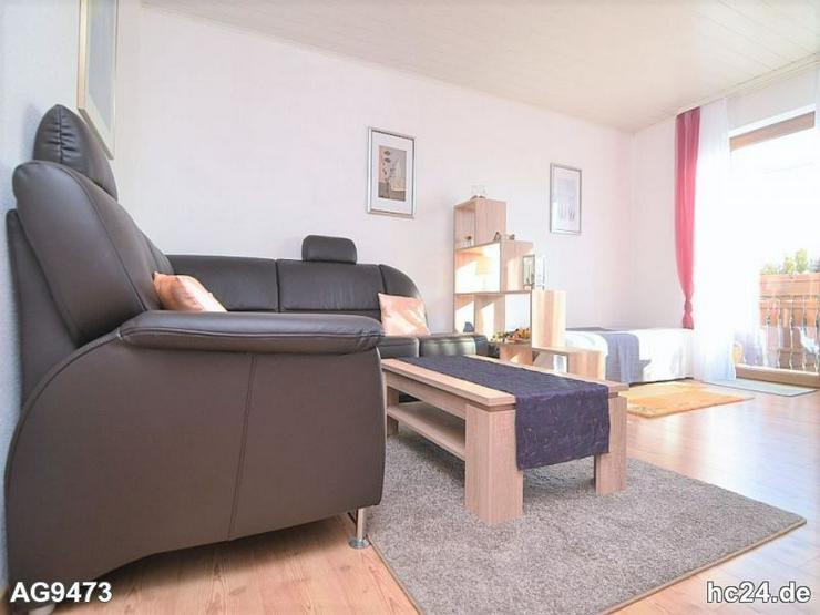 Modern möblierte 2-Zimmer-Wohnung mit Balkon in Nürnberg Nord nahe Flughafen - Wohnen auf Zeit - Bild 1