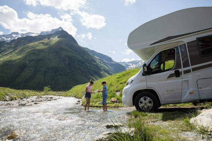 Wohnmobil mieten - 4 Wochen & 3 Wochen zahlen