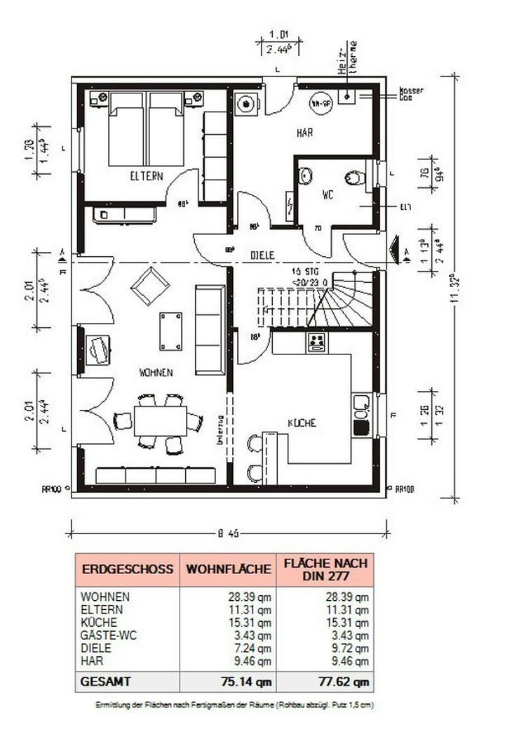 Bild 6: *** Einfamilienhaus der Extraklasse für die ganze Familie *** schlüsselfertig ***