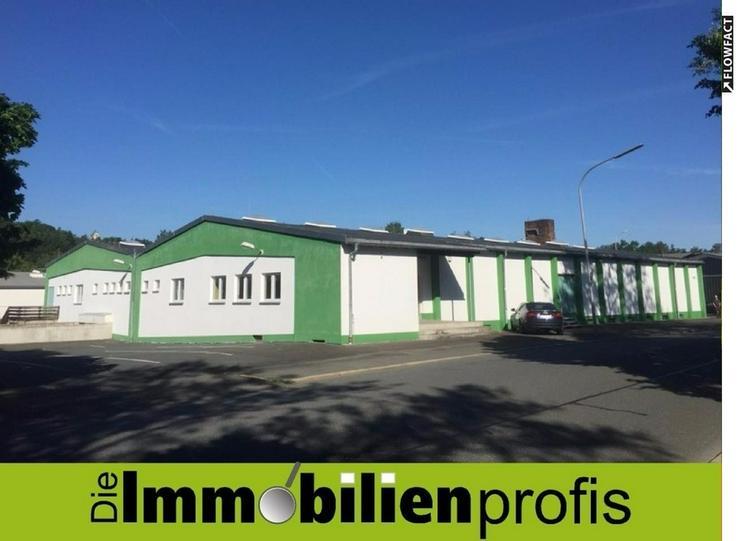 Gewerbehalle mit Tiefgarage für Lager, Logistik, Verkauf in Hof/Saale zu vermieten - Gewerbeimmobilie mieten - Bild 1
