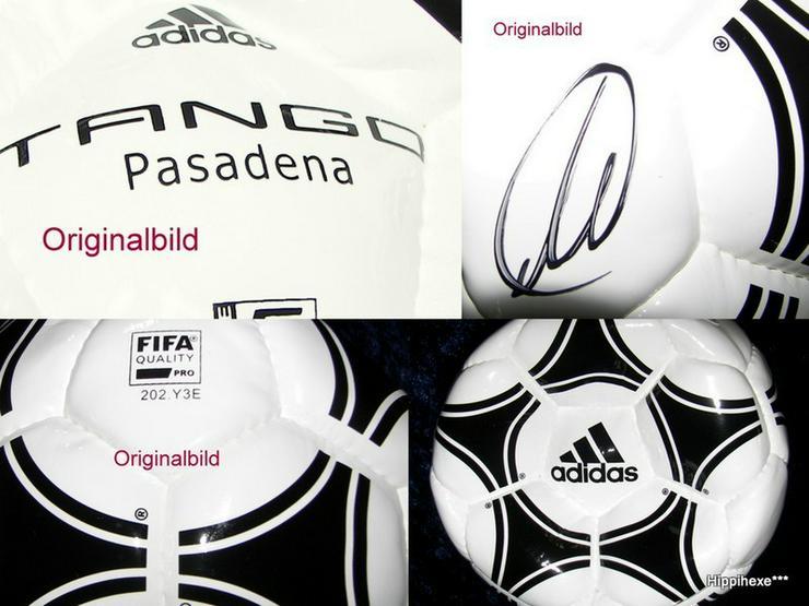 Fußball mit Signatur von Thomas Müller - Fußball - Bild 1