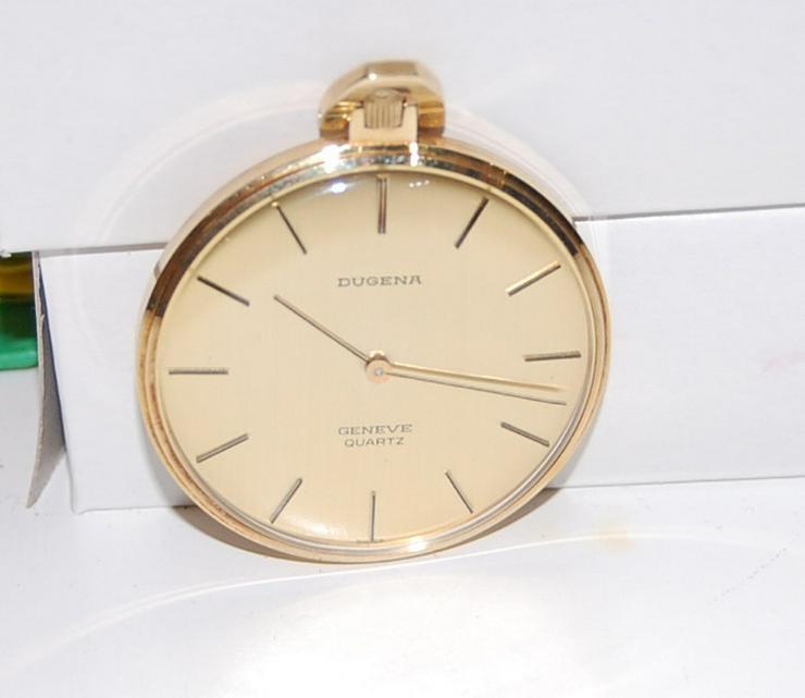 Dugena Taschenuhr 585er Gelbgold - Herren Armbanduhren - Bild 1