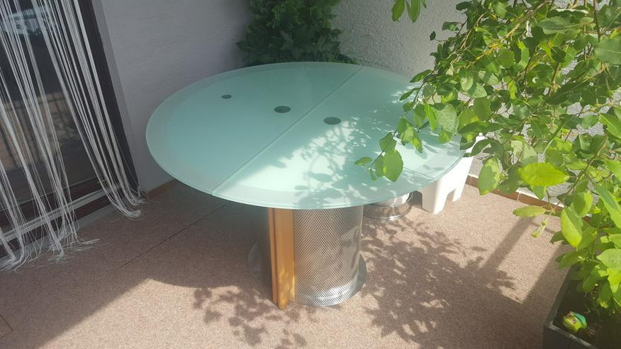 Bild 3: Esstisch mit 4 Stühlen