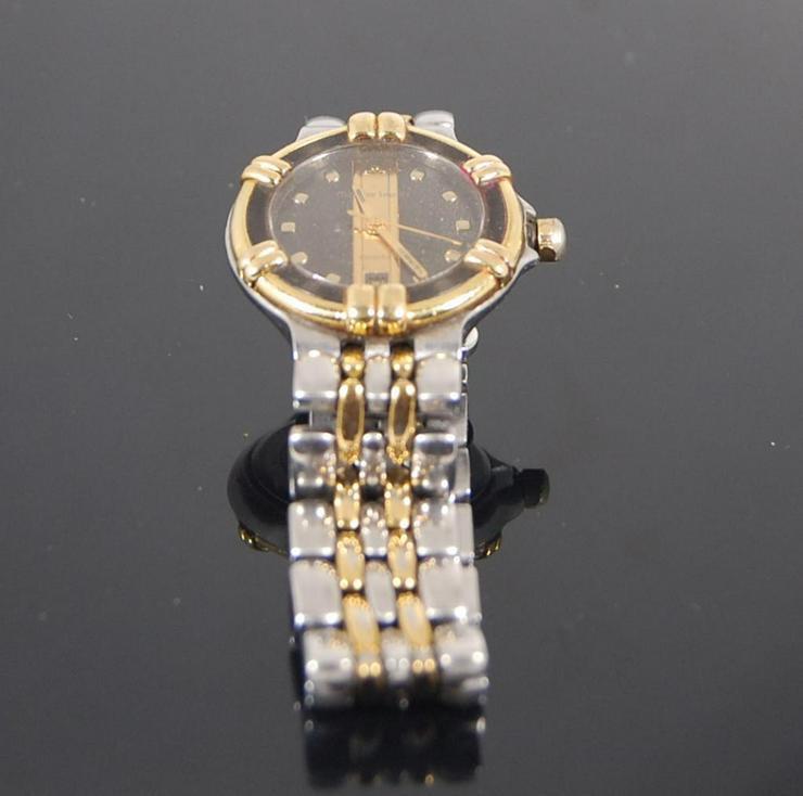 Maurice Lacroix Damenuhr Edelstahl vergoldet - Damen Armbanduhren - Bild 1