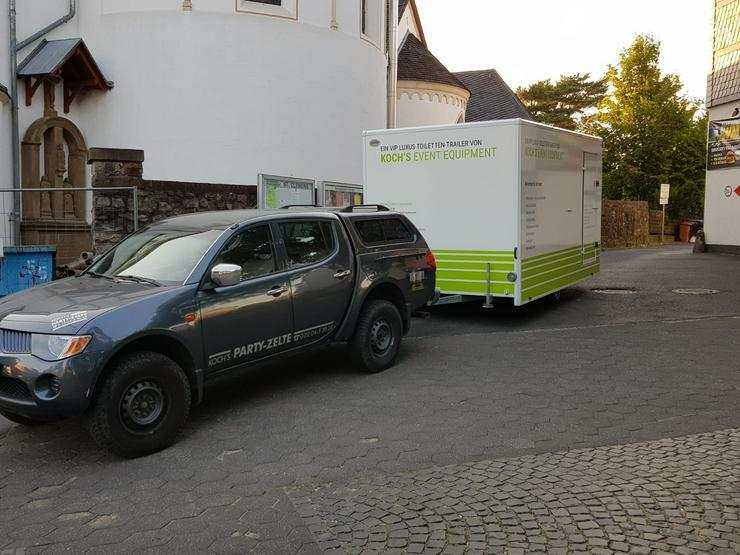 Toilettenwagen, WC Wagen,mobile Toiletten