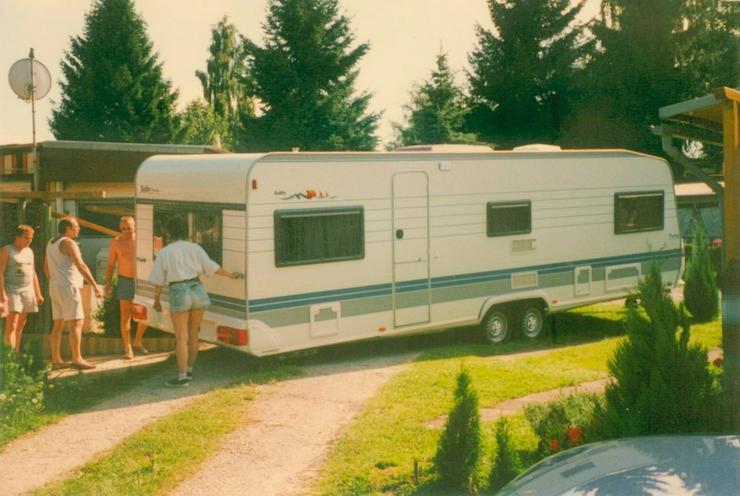 Camping-Festplatz am Buchhorner See - Wohnwagen - Bild 1