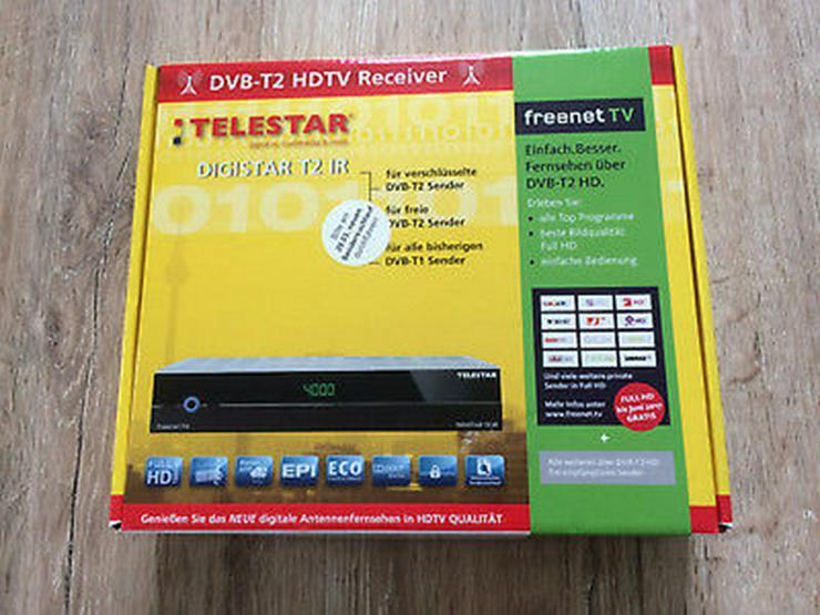 DVB-T2 HDTV Receiver TELESTAR Digistrar T2 IR - Bild 1