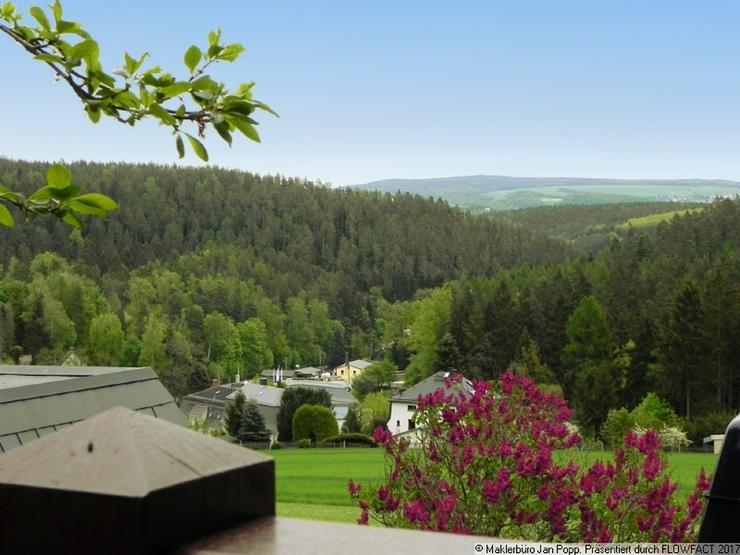 Waldnaher Wohntraum mit Fernblick im fürstlich vogtländischen Greiz! - Wohnung mieten - Bild 1
