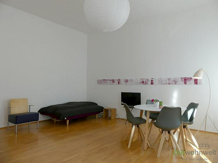 Bild 3: (EF0374_M) Dresden: Striesen-West, edle Zweizimmerwohnung mit Balkon und Parkettböden in ...