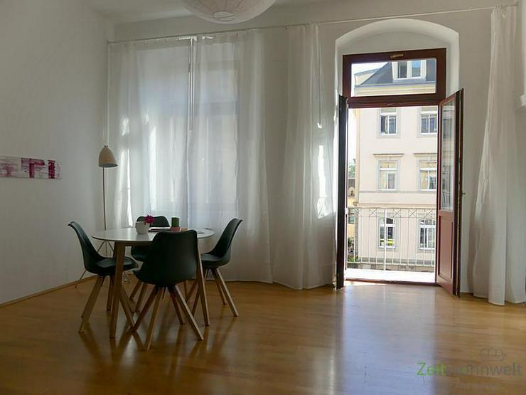 Bild 2: (EF0374_M) Dresden: Striesen-West, edle Zweizimmerwohnung mit Balkon und Parkettböden in ...