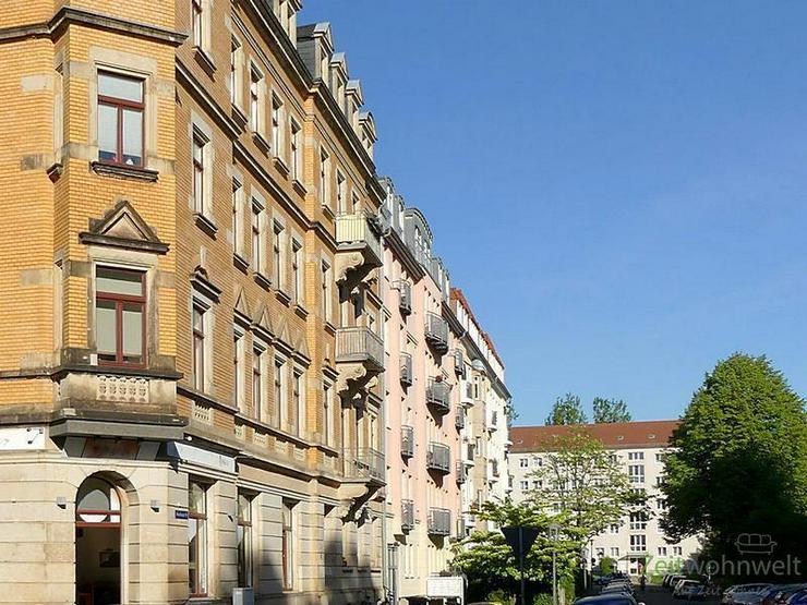 (EF0374_M) Dresden: Striesen-West, edle Zweizimmerwohnung mit Balkon und Parkettböden in ... - Wohnen auf Zeit - Bild 1