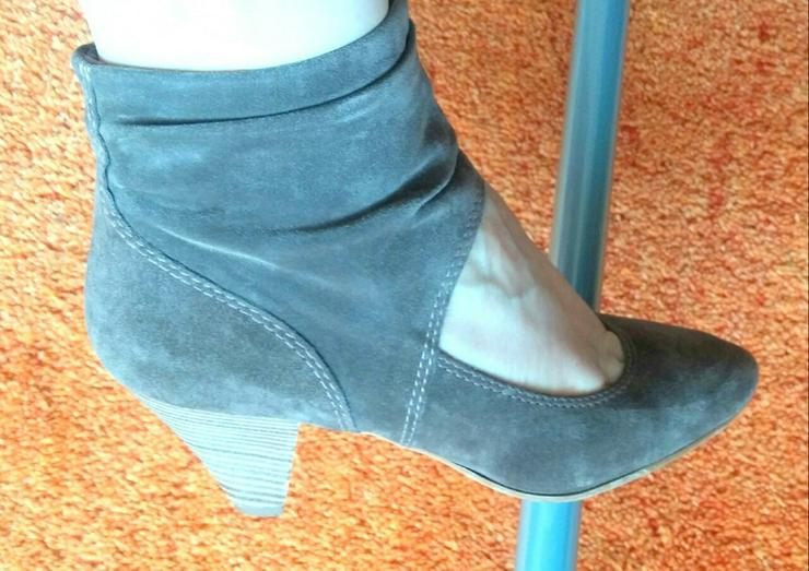 Damen Schuhe Samt Leder Pumps Gr.38 Tamaris