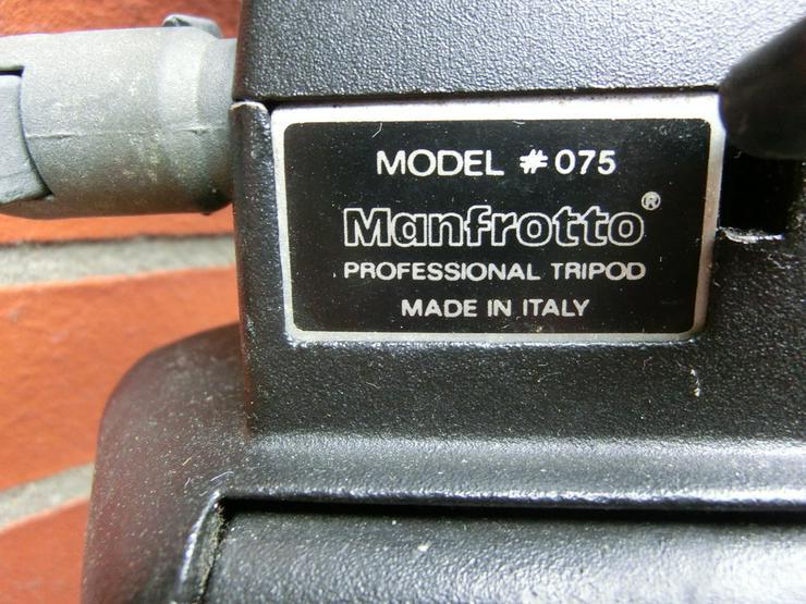 Bild 4: Foto- und Videostativ MANFROTTO 75