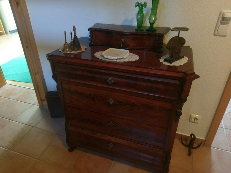 Kommode mit 4 Schubladen, antik