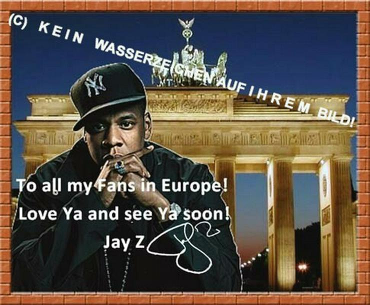 Rapper JAY Z: Wandbild aus Berlin!