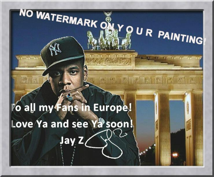 Bild 4: Rapper JAY Z: Wandbild aus Berlin!