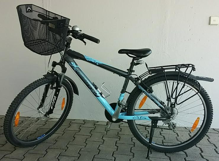 Damen-Trekking-Fahrrad