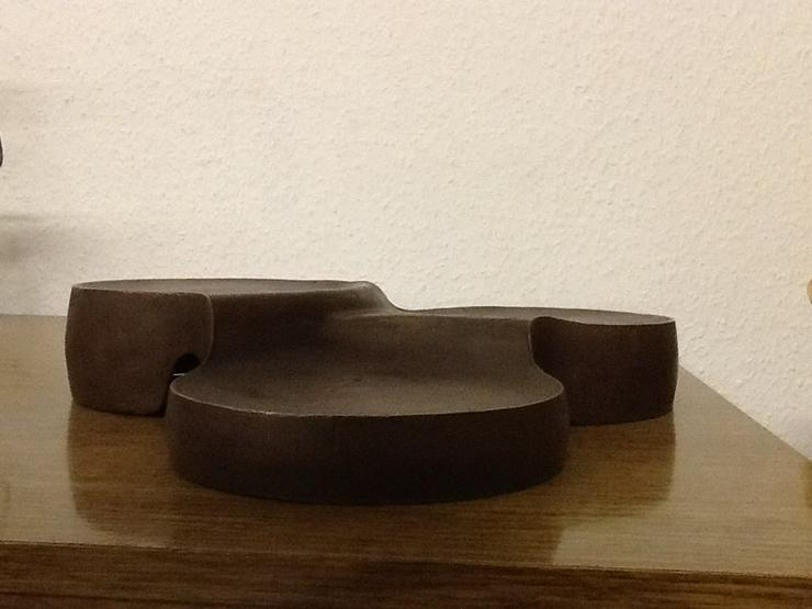 Bronze-Stufen-Kerzenleuchter ohne Dorn