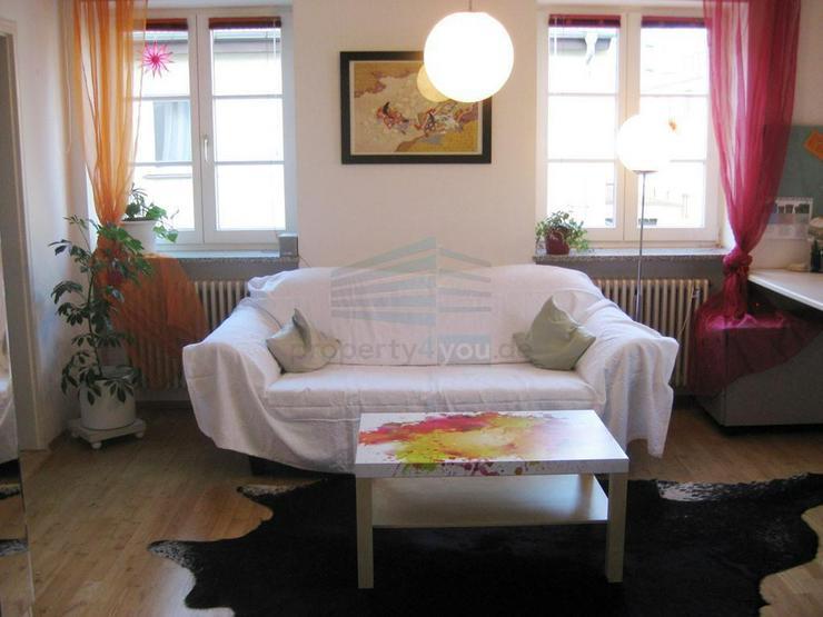 Bild 2: Individuelle 2-Zimmer-Wohnung im begrünten Innenhof
