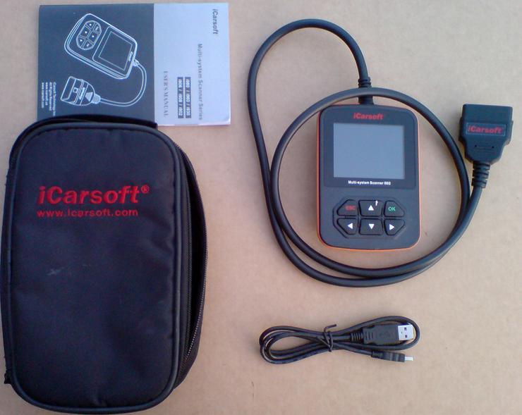iCarsoft i902 für Opel OBD Diagnosegerät - Bild 1