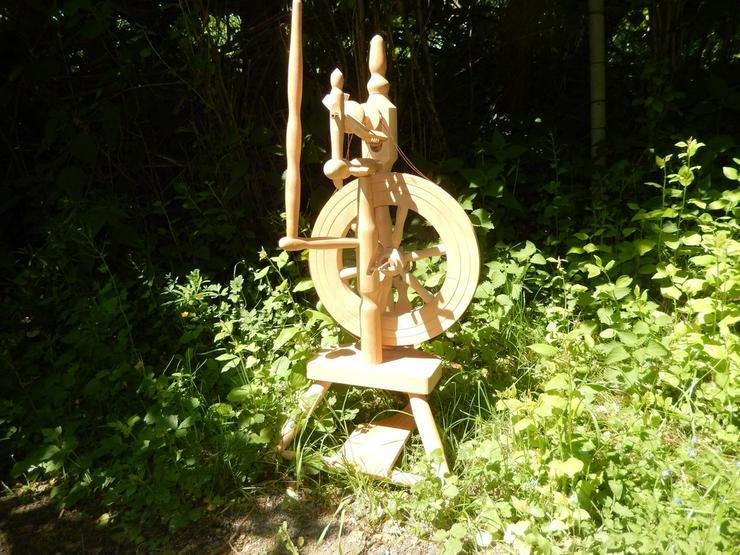 Spinnrad zu verkaufen  zur Deko - Figuren & Objekte - Bild 1