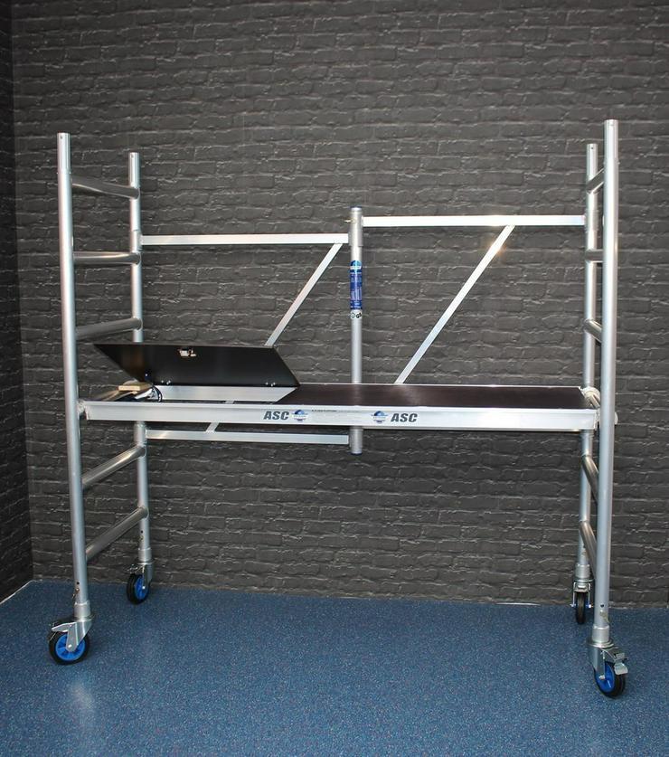 Zimmerfahrgerüst Klappgerüst Rollgerüst MIETE - Vermietung & Verleih - Bild 1