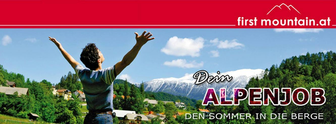 Bock auf Berg? Ferienjob in Österreich So2018