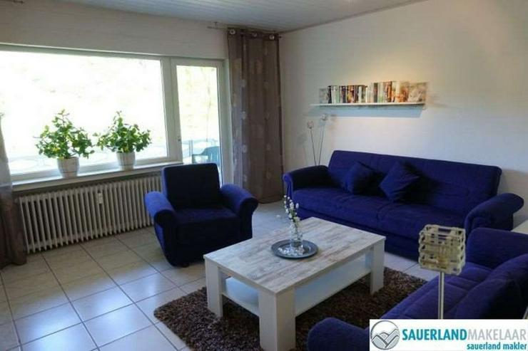 Bild 3: 2-Zimmerwohnung in Brilon-Bontkirchen (links)