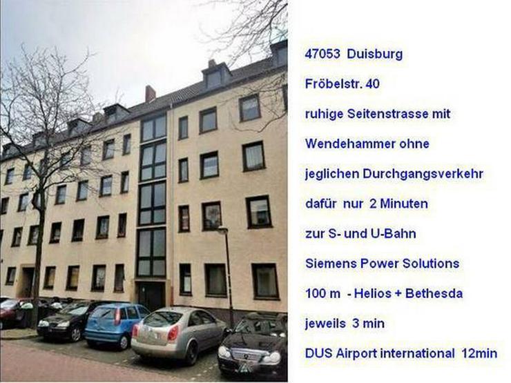 2 ZKB 47053 Duisburg  T2 Appartement - Bild 1