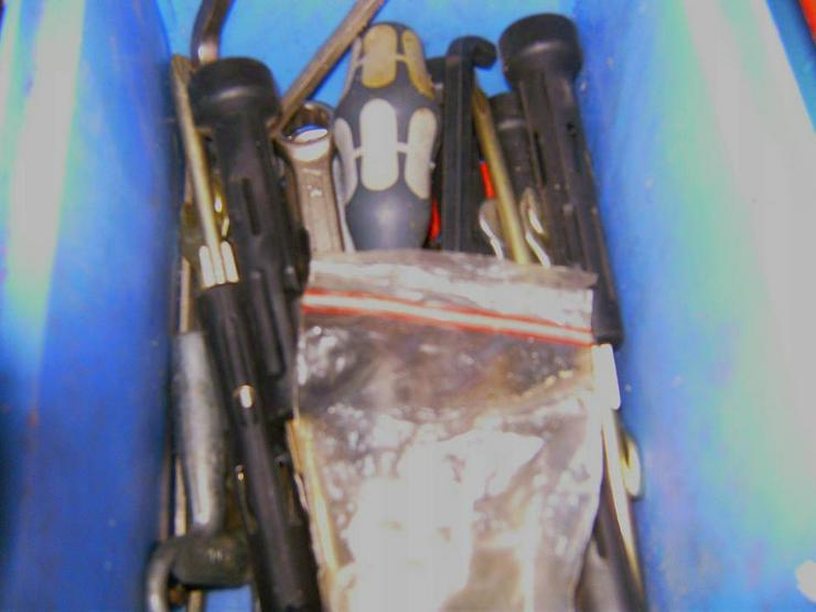 Bild 5: Werkzeug etc. abzugeben oder Tausch gegen
