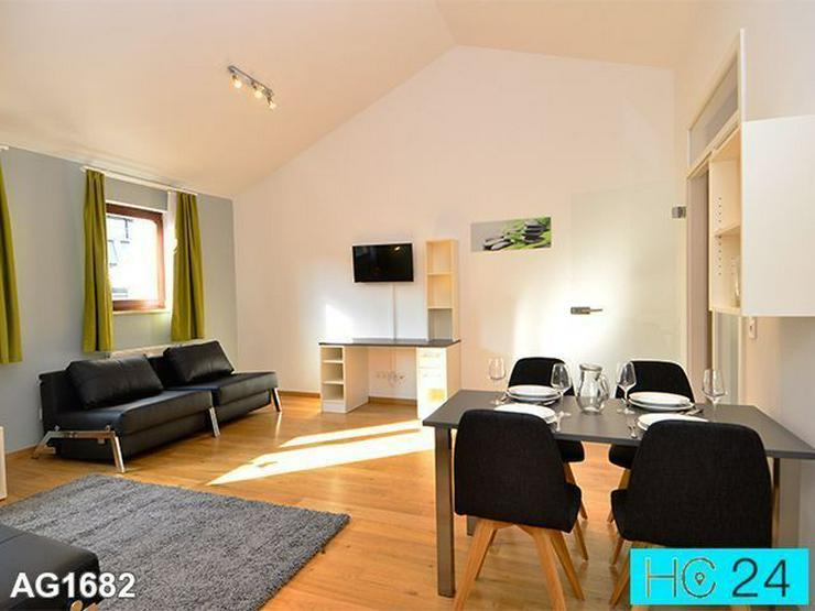 * TOP! Möblierte Wohnung in Leipzig + TG-Stellplatz auf Anfrage + Dachterrasse + INTERNET
