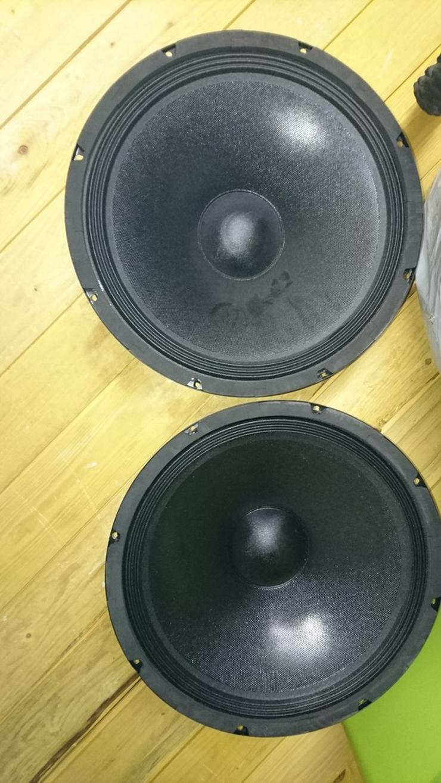 DPA Audio Boxen 200W mit Hochtöner