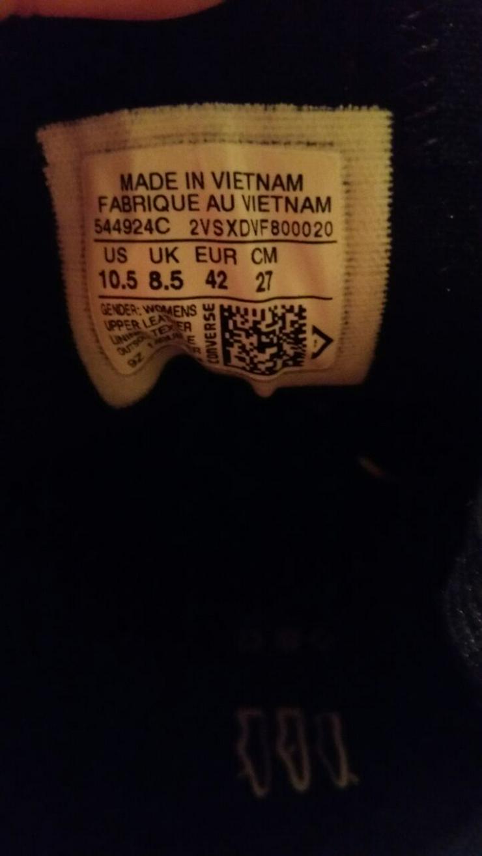 Bild 3: Converse Schuhe ungetragen gr 42 Unisex