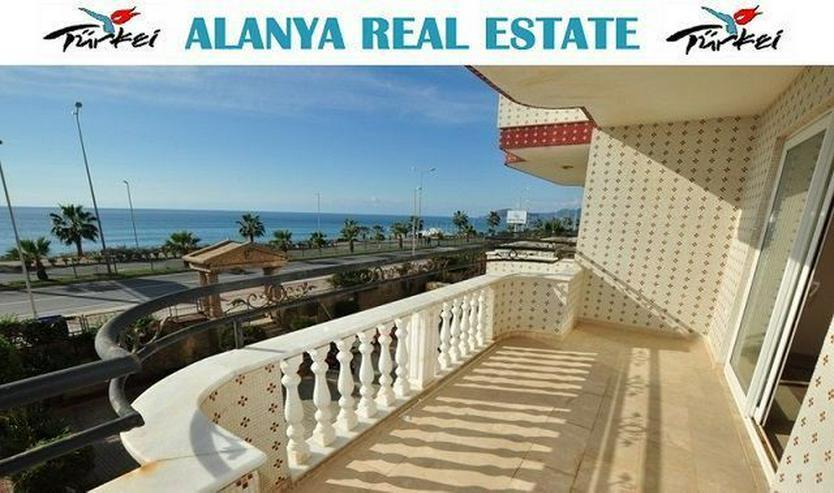 3 Zimmer Wohnung in erster Meereslinie mit Pool in Mahmutlar - Wohnung kaufen - Bild 1