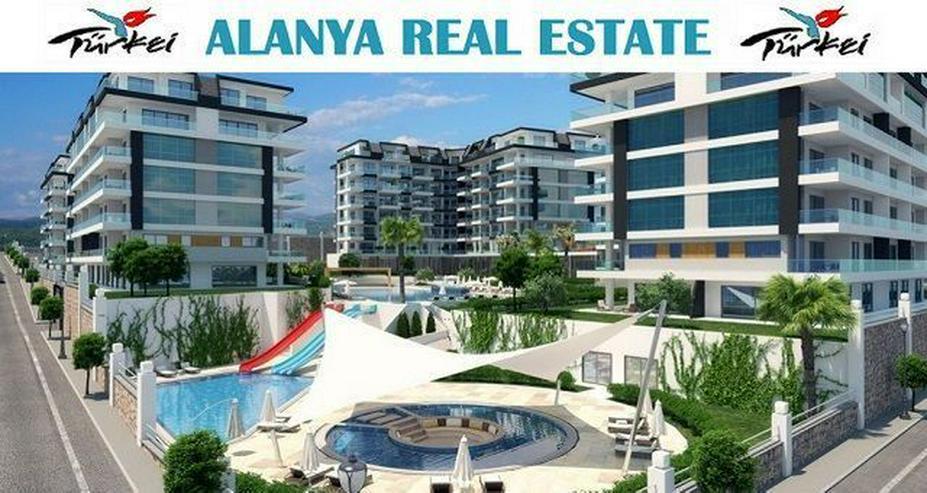 Konak Seaside Resort Neue 3+1 Luxus Penthäuser mit Meerblick nur 120 m zum Strand