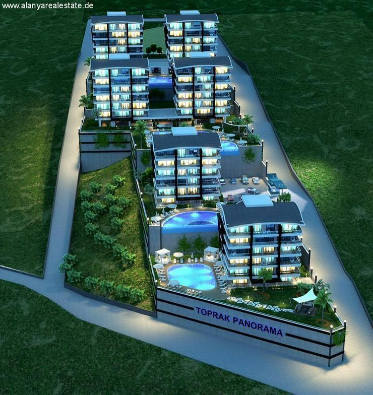 Bild 2: == ALANYA IMMOBILIE == Voll möblierte Luxus Garten Duplex Wohnung in Top Lage !