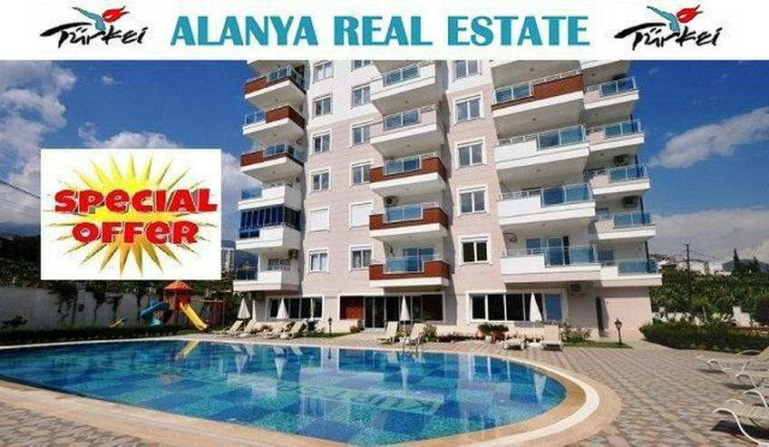 == ALANYA IMMOBILIE == Neue 3 Zimmer Luxus Wohnung in Exklusiver Residenz für nur 50.000,...