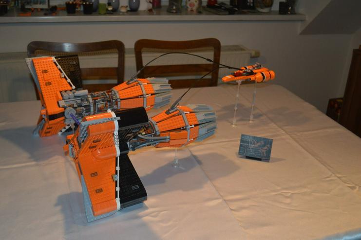 LEGO Star Wars MOC Sebulbas Podracer